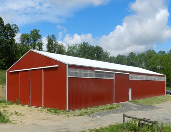 Pole buildings for Hay pole barns